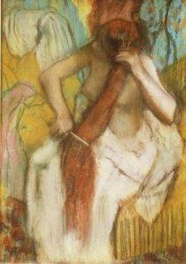 Degas - Donna che si pettina