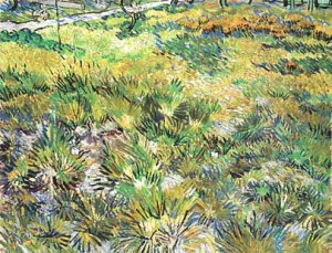 Long grass with butterflies- Vincent Van Gogh
