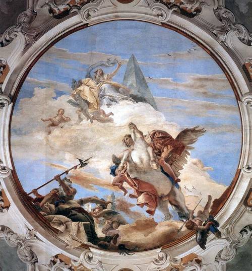 Tiepolo,_Giovanni_Battista_-_Bellerophon_on_Pegasus_-_1746-47