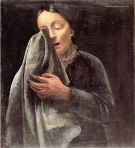 felix-nussbaum-woman-weeping-1941